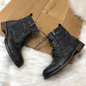 Polar Fox Gray Ankle Boots